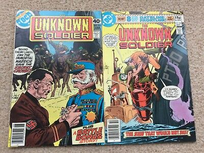 The Unknown Soldier 228 + 244 DC Comics 1979/80