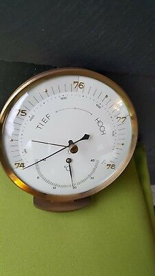 Lufft Wetterstation Barometer Hygrometer Thermometer Messing