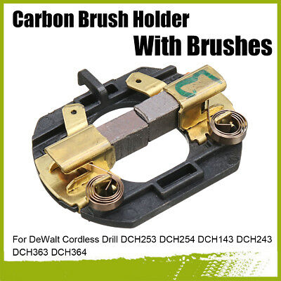 Carbon Brush Holder With Brushes For DeWalt Cordless Drill DCH253 DCH254 DCH143