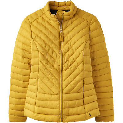 Joules Womens Elodie Quilted Lightweight Warm Padded Coat