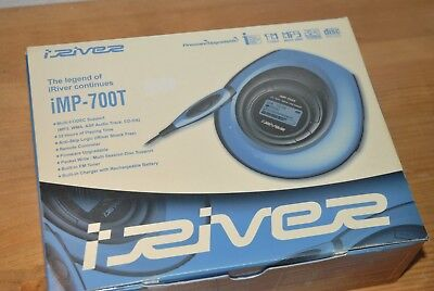 iRiver iMP-700T in BOX  INNO cd mp3 Player portable imp 700