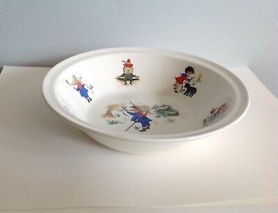 Vintage Children's Nursery Rhyme Bowl