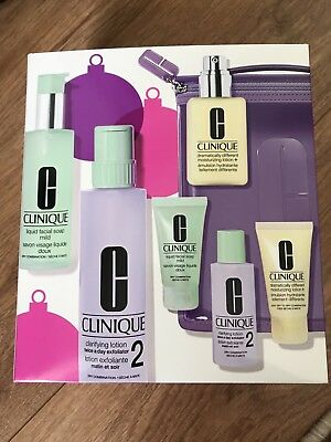 Clinique Great Skin Home & Away Set - Skin Types 1,2