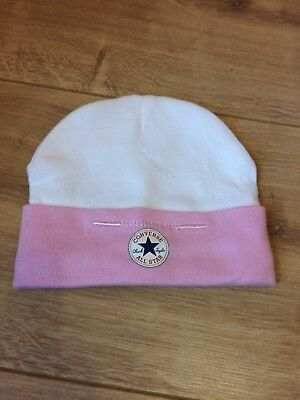 Pink Converse All Star Hat,baby Girl 0-6months