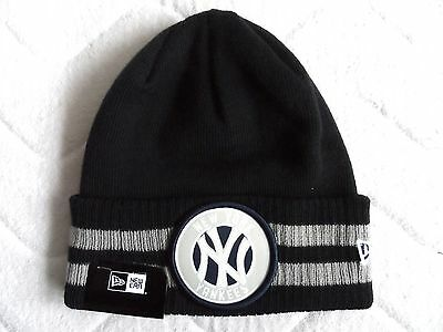 New Era NEW YORK YANKEES Navy BEANIE TUQUE Hat OSFA Baseball MLB USA COMFY Tags