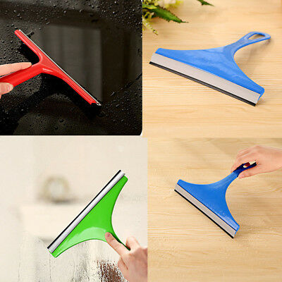 F1FE New Simple Mirror Car Squeegee Glass Wiper Cleaning Shower Screen Washer