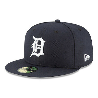 New Era 59FIFTY Cap Detroit Tigers Authentic On-Field Game MLB 2019 schwarz