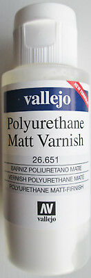Vallejo Val26651  Acrylic-Polyurethane Matt Varnish (60ml)