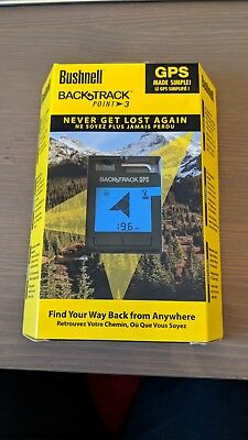 Bushnell Backtrack Point 3 GPS Device - Brand New Unopened