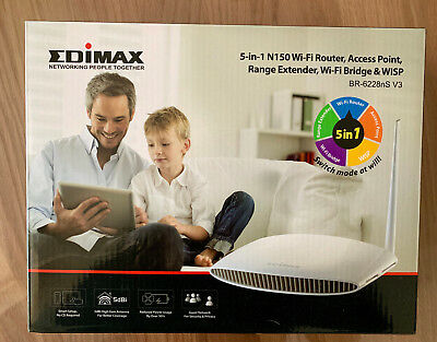 Edimax BR-6228nS 150 Mbit/s Wireless Router 5 in 1 Router