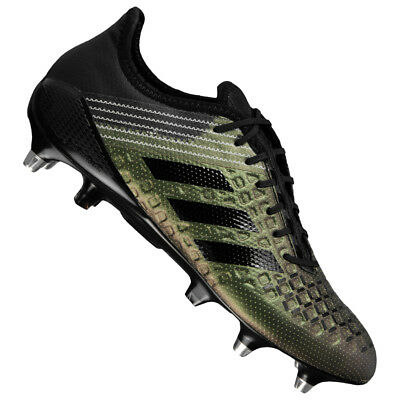 newest fa70a d1e88 Adidas Predator Malice Control Sg Hommes Chaussures de Rugby Avez BY2742  Neuf