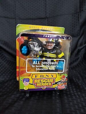 New 2001 Billy Blazes Fdny Special Edition Rescue Heroes #78329 Action Figure