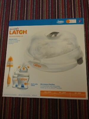 munchkin latch microwave steriliser kit - new never used
