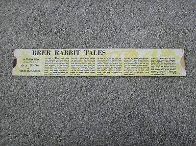 Brer Rabbit Tales - A Minicine Animated Film Directed by Enid Blyton