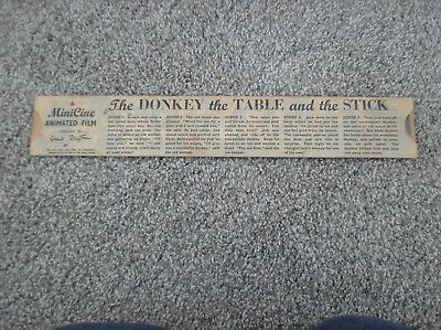 The Donkey The Table & Stick - A Minicine Animated Film Directed by Enid Blyton