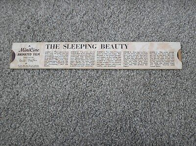 The Sleeping Beauty - A Minicine Animated Film Directed by Enid Blyton