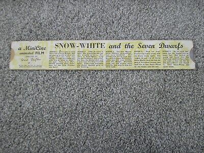 Snow White and the Seven Dwarfs - A Minicine Film Directed by Enid Blyton
