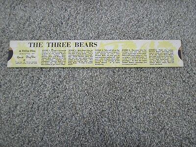 The Three Bears - A Minicine Film Directed by Enid Blyton