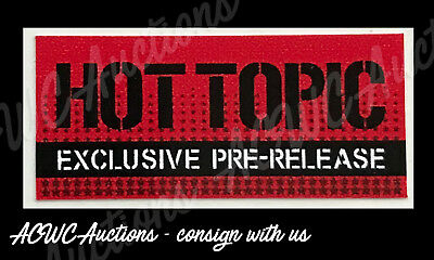 Pop Vinyl Replacement Sticker - Hot Topic Pre-Release Exclusive (Red)