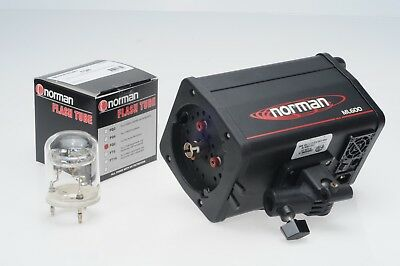 Norman ML600 600Ws Monolight Studio Flash (ML-600) + NEW FLASH TUBE #JC