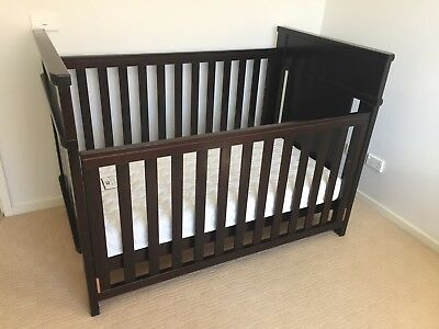 Boori Country Collection Cot with Mattress (Used / Pick Up Lower Templestowe)