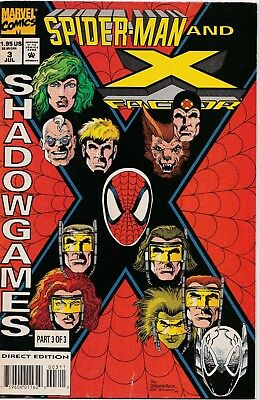 Marvel-Comics ** SPIDER-MAN and X-FACTOR** Vol.1 ** Nr.3 ** 1994 **englisch **