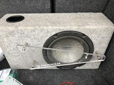 """Pioneer 10"""" Subwoofer And Box"""