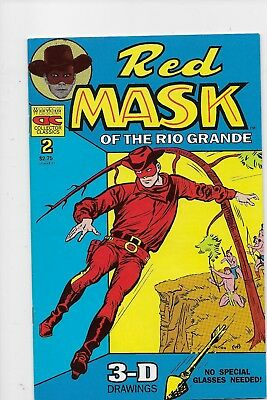 Two issues of Red Mask of the Rio Grande #2 and #3 nr/mint to mint