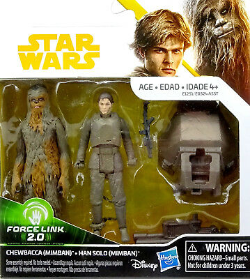 Star Wars Solo A Star Wars Story Collection Chewbacca & Han Solo (Mimban) Hasbro