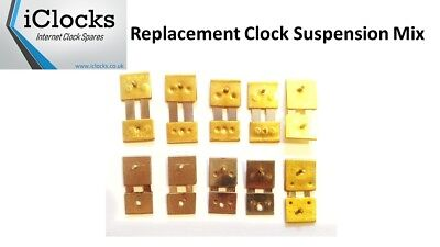 10x Suspension Mix for Wall Mantle Clock Springs pendulum rods, UK Seller, (10m)
