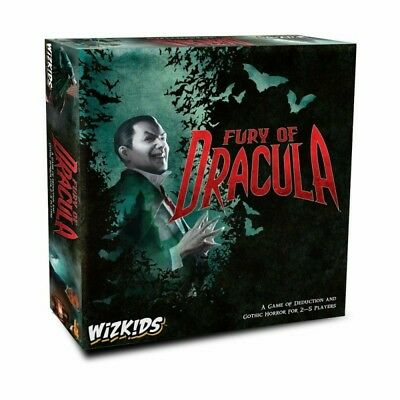 Fury of Dracula 4th Edition Boardgame - New