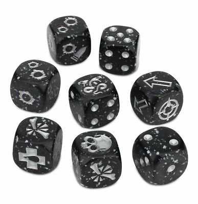 Necromunda Dadi delle gang Delaque Dice Set (8) NUOVO Games Workshop GW