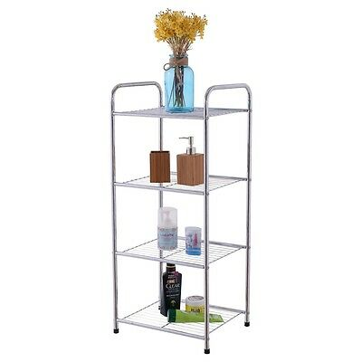 Heavy Duty Metal Rack, 5-Shelf Steel Shelving Unit, Garage Storage Organizer