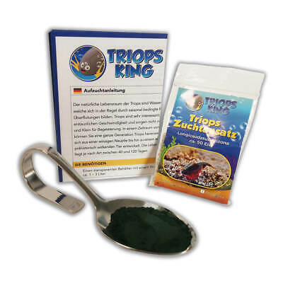 Triops Longicaudatus Arizona Starter Kit by Triops King | feed + instructions