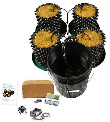 (4) Air Pot Plant Germination & Propagation Drain to Waste Cococoir kit H2OtoGro