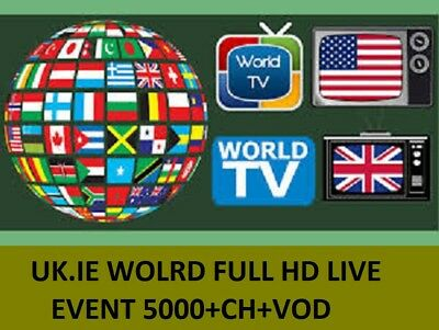 1 Month IPTV Subscription Full HD (MAG - IOS - SmartTV Android Firestick)