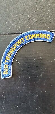 WWII US Army AAC Air Transportation Command Tab Cut Edge Patch