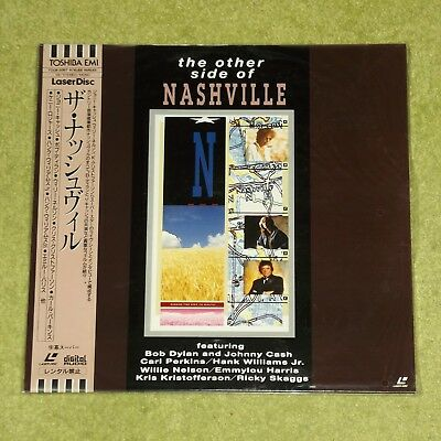 THE OTHER SIDE OF NASHVILLE [Johnny Cash/Bob Dylan] - NEW/SEALED JAPAN LASERDISC