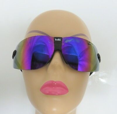958a4c89e8 Bolle Spectra PC Purple Iridescent Lens Polarized Sport Glasses Skiing  Cycling