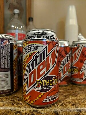 Mountain Dew Typhoon Can SEALED