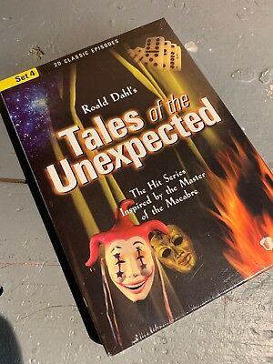 New Sealed Roald Dahl's TALES OF THE UNEXPECTED Set 4 3-DVDs Acorn