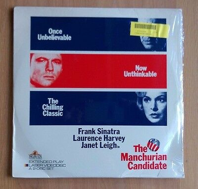 The Manchurian Candidate (1962) Laserdisc - NTSC ML101369 - Excellent Condition