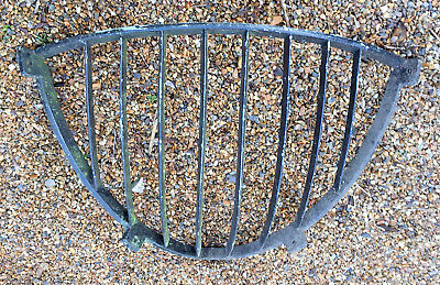 Antique Large Heavy Reclaimed Cast Iron Hay Rack - Make Excellent Garden Planter