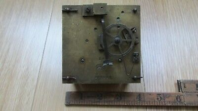 LENZKIRCH Clock Movement  Spares or Repair