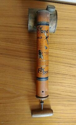 Vintage Fly Ded Hand Bug Insect Spray Sprayer by Midway Chemical Company