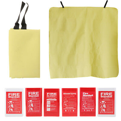 Quick Release Fiberglass Fire Blanket Emergency Safety for Home Car Kitchen