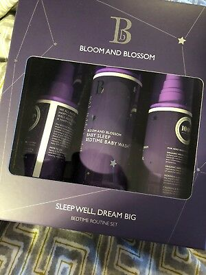 BLOOM AND BLOSSOM Sleep Well, Dream Big BEDROOM ROUTINE SET £40.50 RRP! New Gift