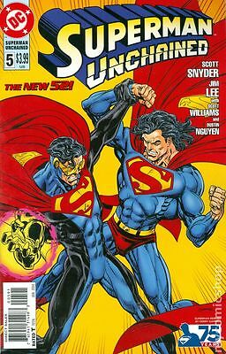 Superman Unchained #5 DC Comics 2013 Kerry Gammill Variant Cover Comic 1:25