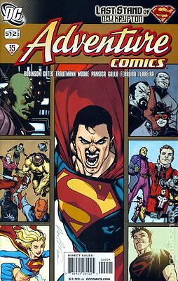 Adventure Comics #512 DC 2009 Rafael Albuquerque 1:10 Variant Cover Comic Book
