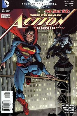 Action Comics #11 DC Comics 2011 Cully Hamner Variant Cover Comic New 52
